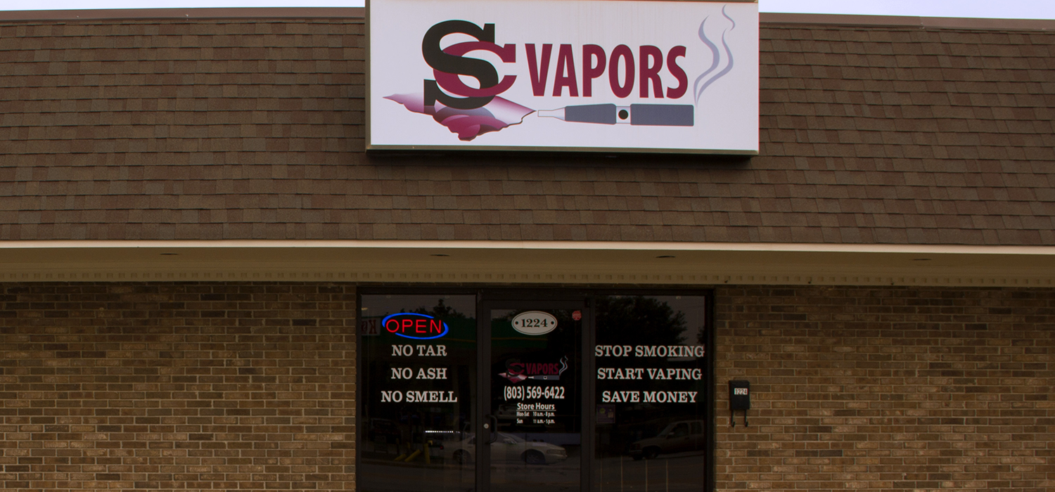 scvapors vape shop serving the west columbia and irmo areas